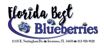 Florida Best Blueberries Logo
