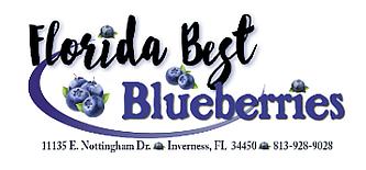 Florida Best Blueberries Logo