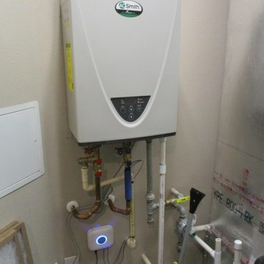 installed residential EWC